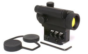 BLACK SPIDER OPTICS RED DOT