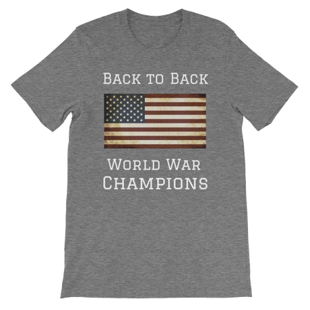 36ae3150 BACK TO BACK WORLD WAR CHAMPS SHORT SLEEVE SHIRT