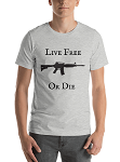LIVE FREE OR DIE  TEAM SHORT SLEEVE SHIRT