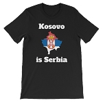 KOSOVO IS SERBIA SHORT SLEEVE SHIRT