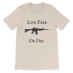 LIVE FREE OR DIE SHORT SLEEVE SHIRT