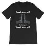CZECH YOUR SELF  SHORT SLEEVE SHIRT