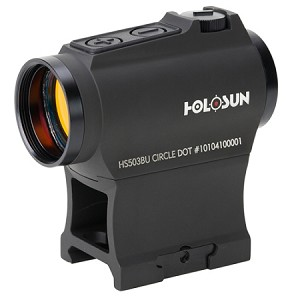 HOLOSUN DUAL RETICLES BATTERY POWERED